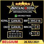 Rumus Bintang5 Belgium 26 JULY 2021