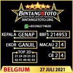 Rumus Bintang5 Belgium 27 JULY 2021