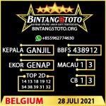 Rumus Bintang5 Belgium 28 JULY 2021