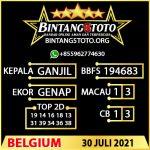 Rumus Bintang5 Belgium 30 JULY 2021