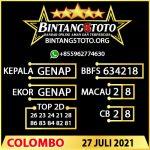Rumus Bintang5 Colombo 27 JULY 2021
