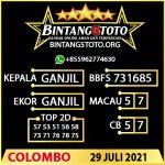 Rumus Bintang5 Colombo 29 JULY 2021