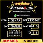 Rumus Bintang5 Jamaica 27 JULY 2021