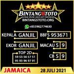 Rumus Bintang5 Jamaica 28 JULY 2021