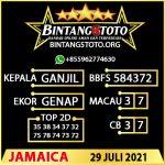 Rumus Bintang5 Jamaica 29 JULY 2021