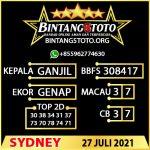 Rumus Bintang5 Sydney 27 JULY 2021