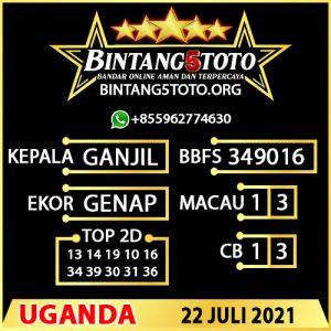 Rumus Bintang5 Uganda 22 JULY 2021
