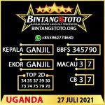 Rumus Bintang5 Uganda 27 JULY 2021
