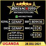 Rumus Bintang5 Uganda 28 JULY 2021