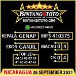 Rumus Bintang5 Nicaragua 26 September 2021