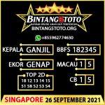 Rumus Bintang5 Singapore 26 September 2021