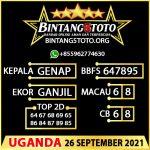 Rumus Bintang5 Uganda 26 September 2021